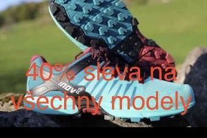Výprodej běžecké obuvy INOV-8