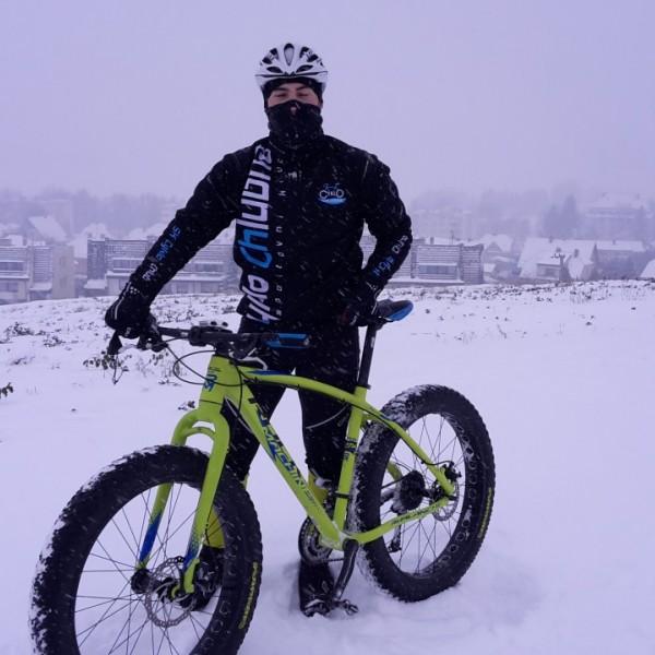 Vyjížďka na snowbiku 2016